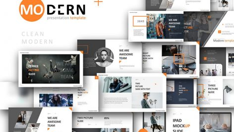 دانلود قالب آماده پاورپوینت Discount Modern Creative Powerpoint