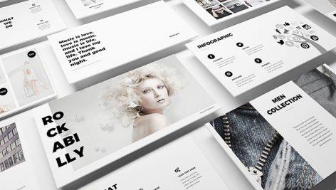 دانلود قالب پاورپوینت Fashion Powerpoint Template