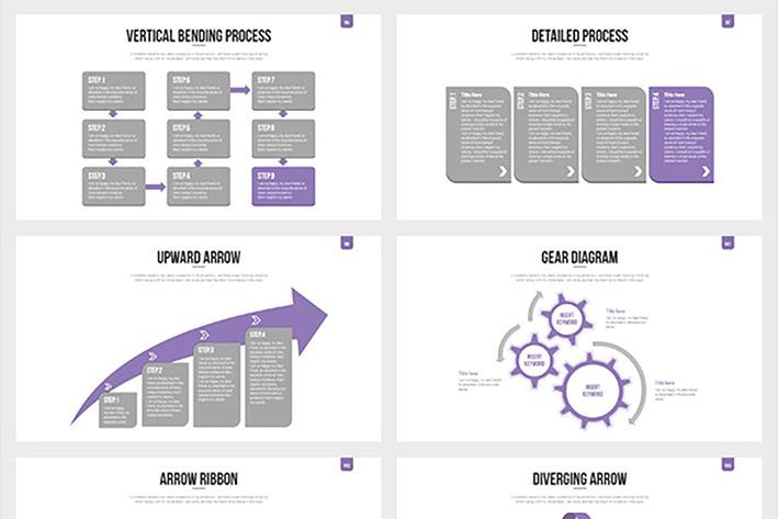 دانلود قالب آماده پاورپوینت Mustve Powerpoint Slides