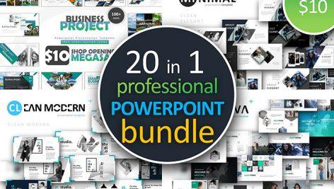 دانلود مجموعه 1000قالب آماده پاورپوینت Powerpoint Bundle