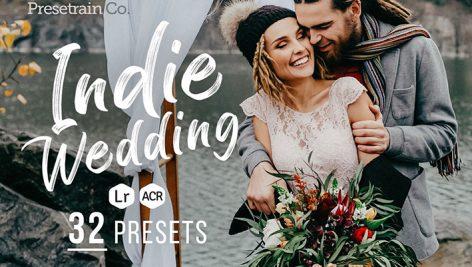 دانلود ۳۲ پریست لایت روم حرفه ای عروسی : Indie Wedding Presets