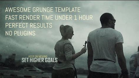 دانلود پروژه آماده افترافکت تیتراژ فیلم Mysterious Grunge Cinematic Trailer