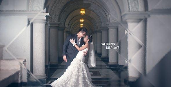 دانلود پروژه آماده افترافکت عروسی اسلایدشو Elegant Glass Slideshow