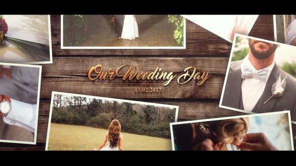 دانلود پروژه آماده افترافکت عروسی : اسلایدشو Wedding Gold Slideshow