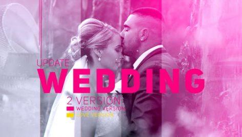 دانلود پروژه آماده افترافکت عروسی : اسلایدشو Wedding Parallax Slideshow