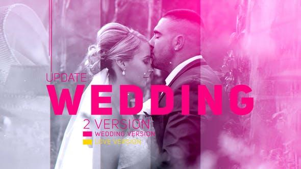 دانلود پروژه آماده افترافکت عروسی  اسلایدشو Wedding Parallax Slideshow