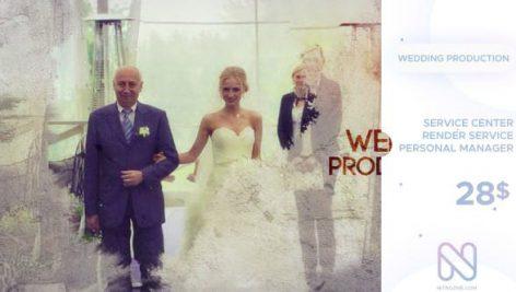 دانلود پروژه آماده افترافکت عروسی : اسلایدشو Wedding Production
