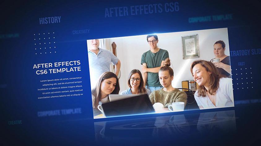 دانلود پروژه آماده افترافکت : معرفی شرکت Corporate Business 3d Presentation