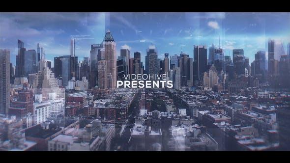 دانلود پروژه آماده افترافکت : اسلایدشو Digital Parallax Slideshow
