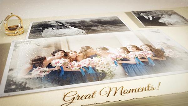 دانلود پروژه آماده افترافکت عروسی : آلبوم عکس سه بعدی Our Wedding Story