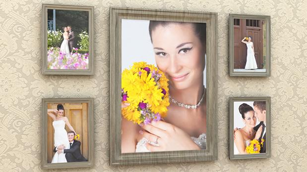 دانلود پروژه آماده افترافکت عروسی : گالری عکس Wedding Day