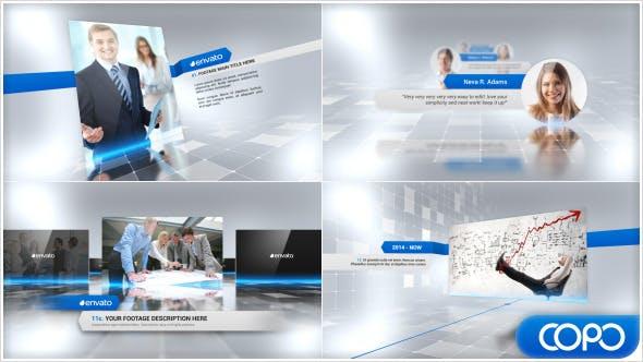 دانلود پروژه آماده افترافکت : معرفی شرکت Complete Corporate Presentation Video
