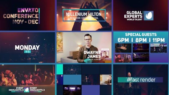 دانلود پروژه آماده افترافکت : معرفی شرکت Corporate Event Promo