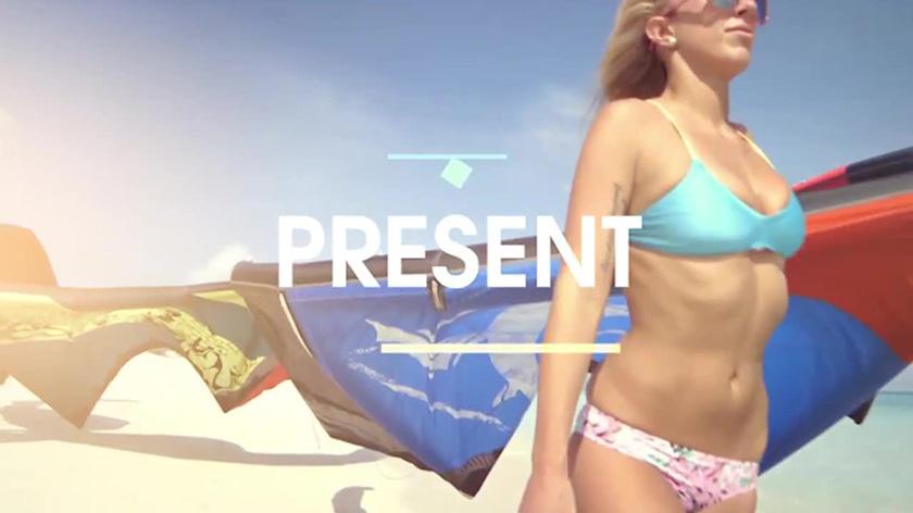 دانلود پروژه آماده پریمیر : اسلایدشو  Summer Slideshow Premiere Pro Templates