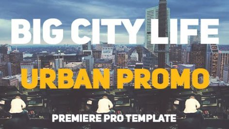 دانلود پروژه آماده پریمیر : تیتراژ  Big City Life Urban Promo