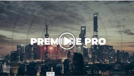 دانلود پروژه آماده پریمیر : تیتراژ  Parallax Stomp Intro Premiere Pro Templates