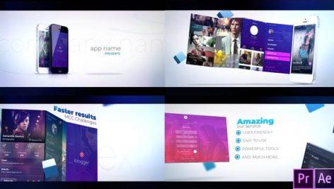 دانلود پروژه آماده پریمیر : معرفی برنامه Promotion App