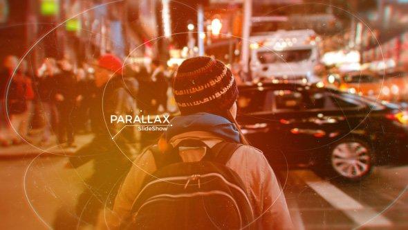 دانلود پروژه آماده افترافکت : اسلایدشو Parallax Slideshow with aerobatic styled lines