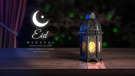 دانلود پروژه آماده افترافکت بمناسبت ماه رمضان : Lantern Ramadan