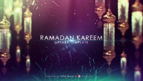 دانلود پروژه آماده افترافکت بمناسبت ماه رمضان : Ramadan Kareem Title