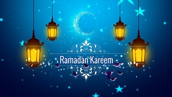 دانلود پروژه آماده افترافکت بمناسبت ماه رمضان : Ramadan Kareem