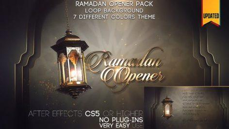 دانلود پروژه آماده افترافکت بمناسبت ماه رمضان : Ramadan Opener Pack
