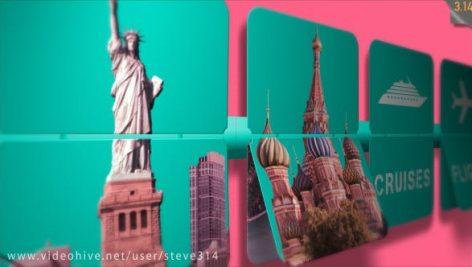 دانلود پروژه آماده افترافکت : نمایش لوگو Travel Agency Travel Services Intro