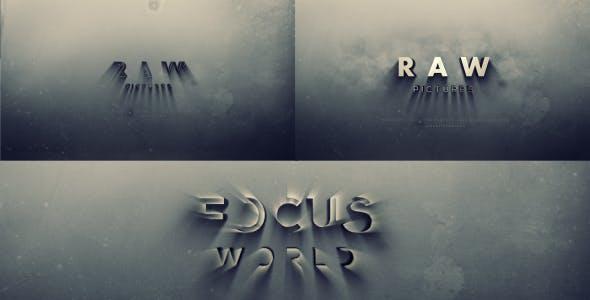 دانلود پروژه آماده افترافکت : نمایش لوگو Bold Cinema Logo Reveal