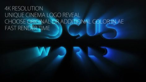 دانلود پروژه آماده افترافکت : نمایش لوگو Cinema Logo Ident