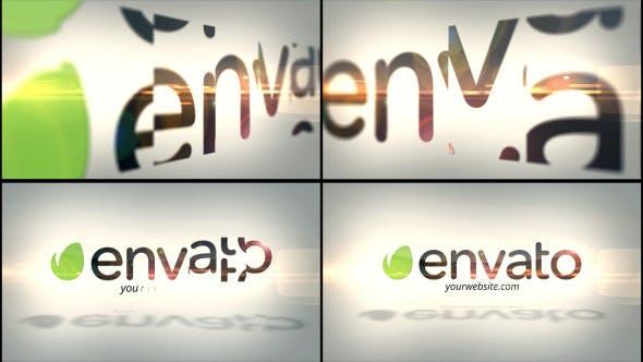دانلود پروژه آماده افترافکت : نمایش لوگو Corporate Flip Logo Reveal
