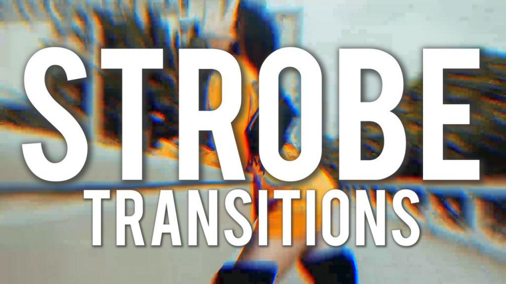 دانلود پکیج ترنزیشن حرفه ای و زیبای پریمیر Strobe Transitions