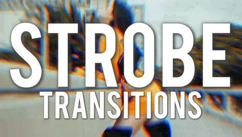 دانلود پکیج ترنزیشن حرفه ای و زیبای پریمیر : Strobe Transitions