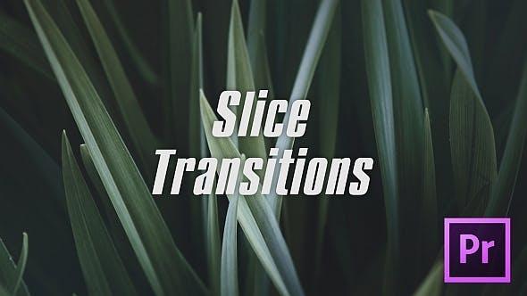 دانلود پکیج ترنزیشن حرفه ای پریمیر  Slice Transitions