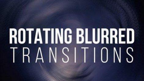 دانلود پکیج ترنزیشن چرخشی حرفه ای پریمیر : Rotating Blurred Transitions Premiere Pro
