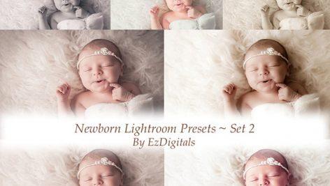 دانلود ۱۰ پریست لایت روم حرفه ای کودک : Newborn Lightroom Presets