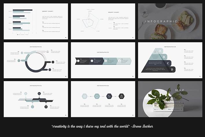 دانلود قالب پاورپوینت Clean Creative PowerPoint Template
