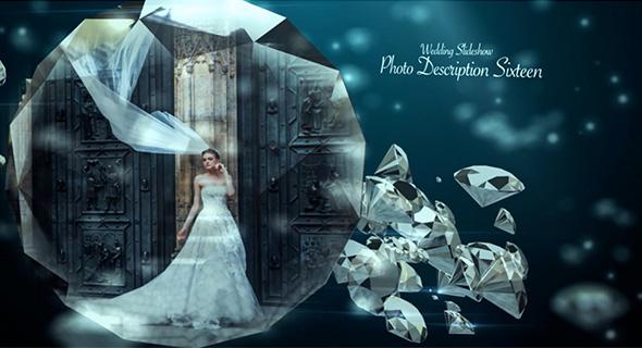 دانلود پروژه آماده افترافکت عروسی : گالری عکس Wedding Ring Slideshow