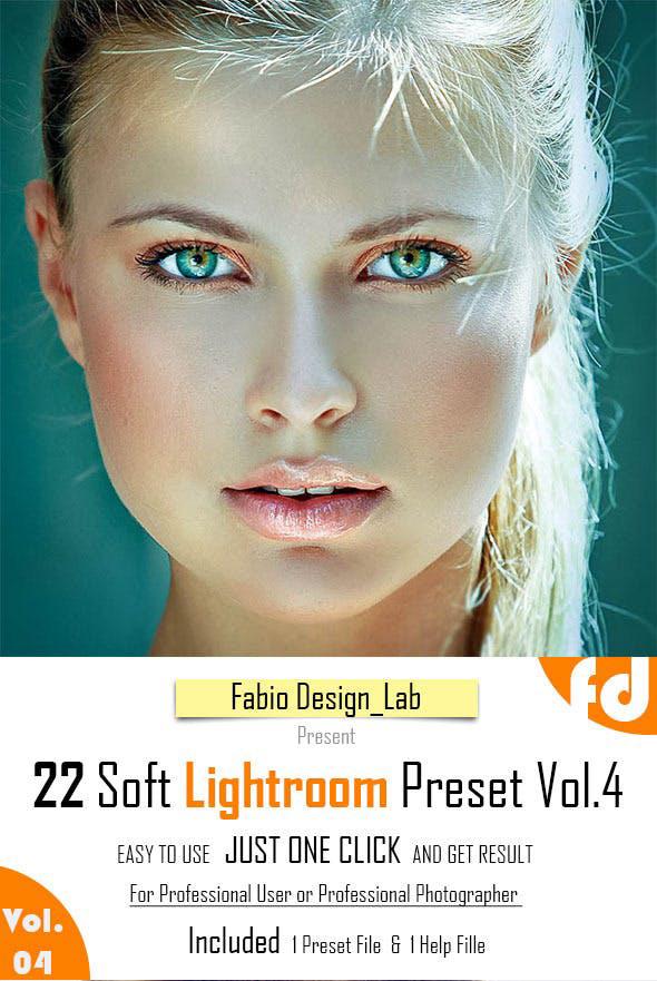 دانلود 22 پریست لایت روم : Graphicriver 22 Soft Lightroom Preset Vol.4
