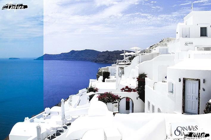 دانلود 5 پریست لایت روم موبایل : Neo Santorini Theme mobile lightroom presets