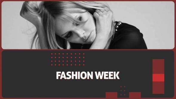 دانلود پروژه آماده افترافکت  اسلایدشو Trendy Fashion Slideshow Opener
