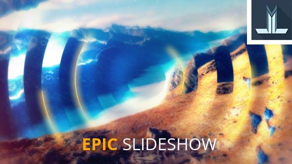 دانلود پروژه آماده افترافکت : اسلایدشو  videohive Epic Slideshow