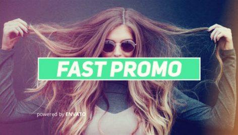 دانلود پروژه آماده افترافکت : تیتراژ فیلم videohive Fast Promo
