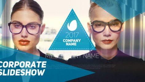 دانلود پروژه آماده افترافکت : معرفی شرکت videohive Corporate Slideshow