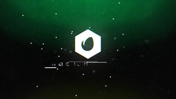 دانلود پروژه آماده افترافکت : نمایش لوگو videohive Digital Glitch Logo