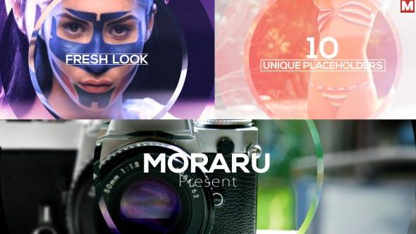دانلود پروژه آماده افترافکت : اسلایدشو Elegant Focus Promo Slideshow