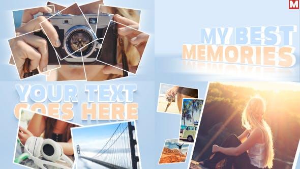دانلود پروژه آماده افترافکت : اسلایدشو  videohive Promo Photo Reveal