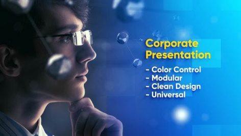 دانلود پروژه آماده افترافکت : معرفی شرکت Modern Business Promo