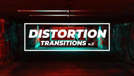 دانلود پروژه آماده پریمیر اسلایدشو motionarray Distortion Transititons