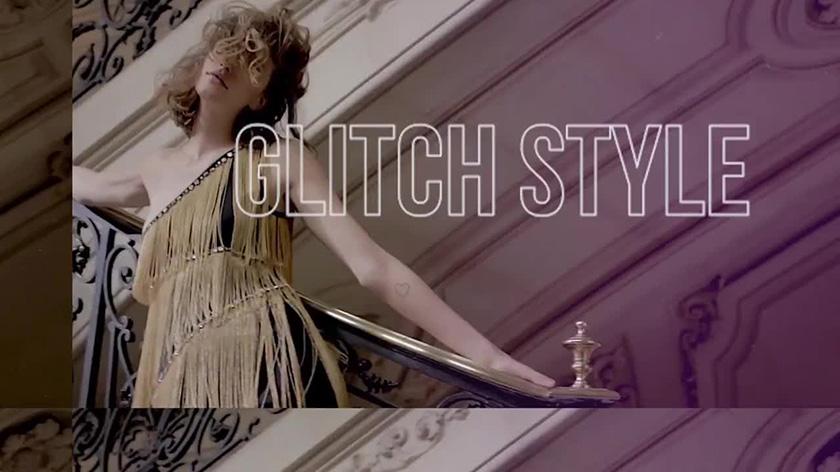 دانلود پروژه آماده پریمیر  اسلایدشو motionarray Fashion Glitch Intro