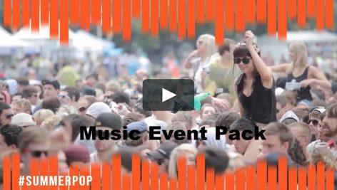 دانلود پروژه آماده پریمیر : اسلایدشو  motionarray Music Event Pack